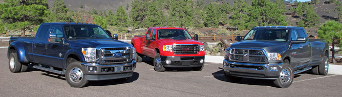 2 ton trucks verses 1 ton trucks, comparing class 3 trucks