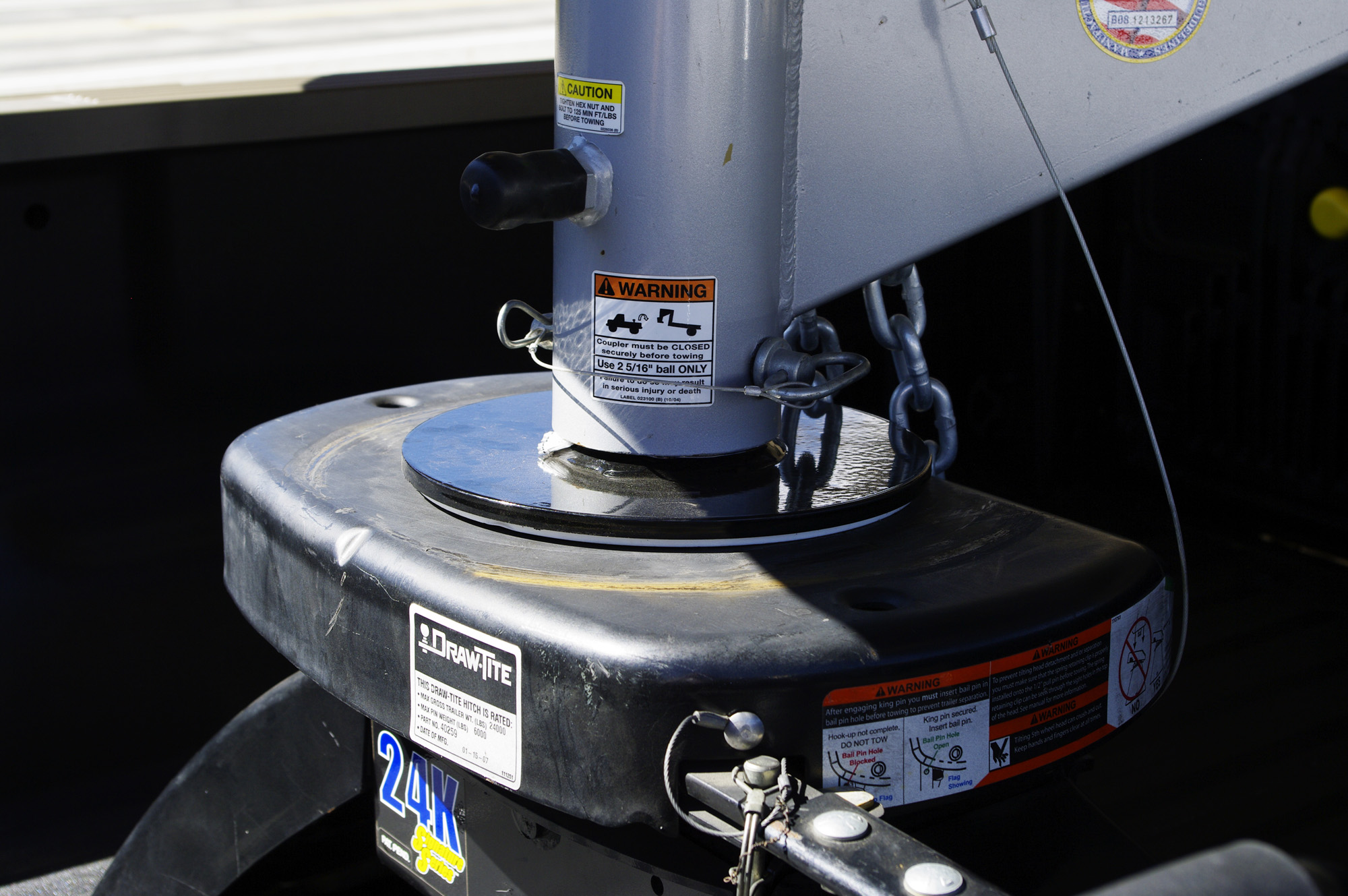 5th Wheel King Pin Box Extension : Popup shortbed truck gooseneck extension to save your