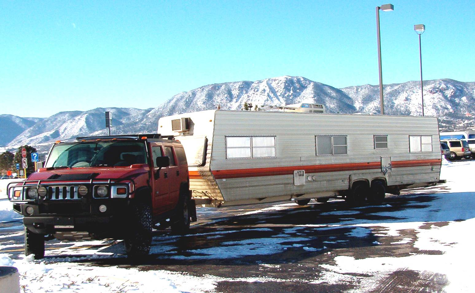 Hummer 9 is a Hum-dinger pulling machine.   hummer towing capacity