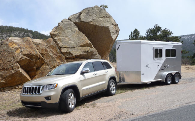 Jeep Grand Cherokee Limited Review Towing A Featherlite