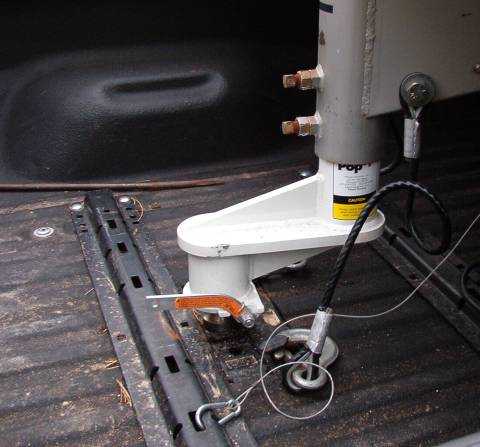 Quot Popup Gooseneck Nine Inch Trailer Extension For Shortbed