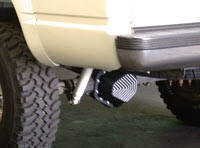 Differential Cover on Pickup